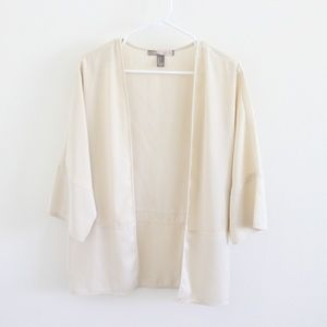 Forever 21 Contemporary Cream Kimono